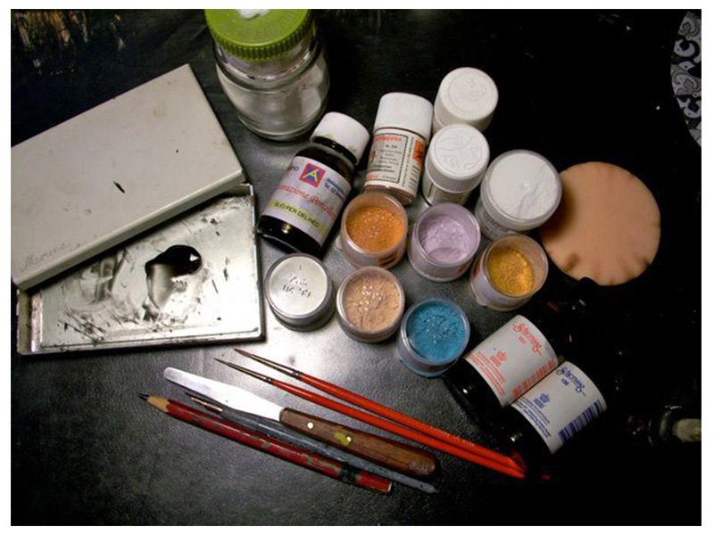 Colori in polvere soprasmalto terzo fuoco 10 gr for Colorificio monza